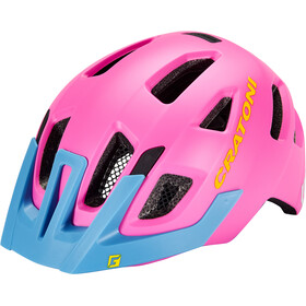 Cratoni Maxster Pro Helmet Kids pink/blue matte